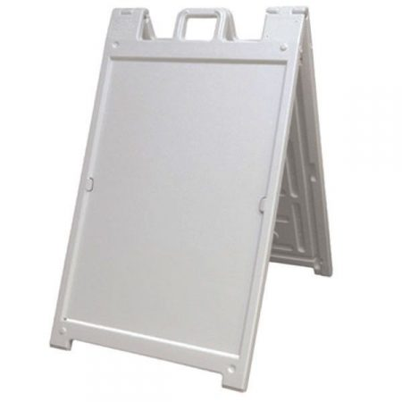 Plastic A-frame, Corflute insert
